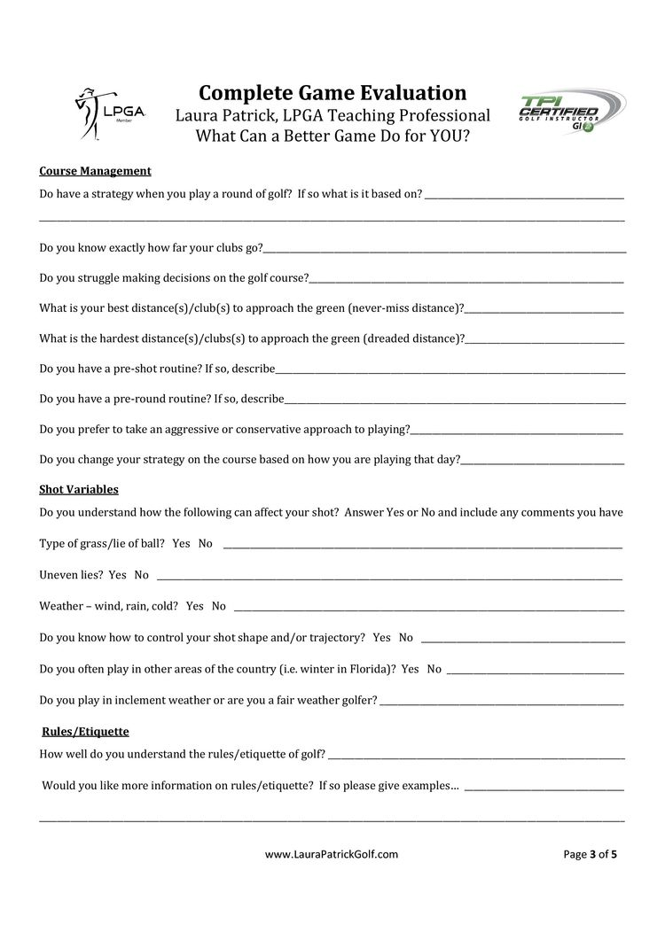 complete game evaluation form - What Is Evaluation Form